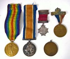 WW1 MEDAL COLLECTION W.C ROULLIER R.A