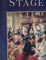 The Stage Magazine March 1934 Ballet Russe Richard of Bordeaux