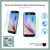 vitre verre trempé protection film Samsung Galaxy S6 Haute qualité protection