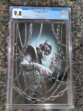 DC Dark Nights Metal #5 CGC 9.8 Bulletproof Virgin Variant Batman Dell'Otto