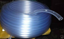 """8mm 5/16"""" 1 MTR CLEAR PVC FLEXIBLE AQUARIUM AIR WATER HOSE PIPE POND TUBING TUBE"""