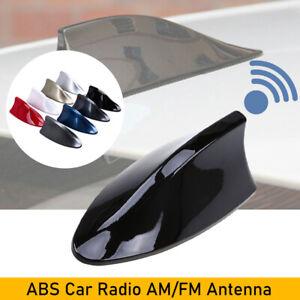 1PCS Shark Fin Roof Antenna Aerial FM/AM Radio Signal Auto Car Trim Universal