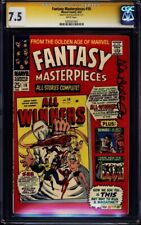 Fantasy Masterpieces #10 CGC SS 7.5 signed Allen Bellman ALL WINNERS #1 REPRINT