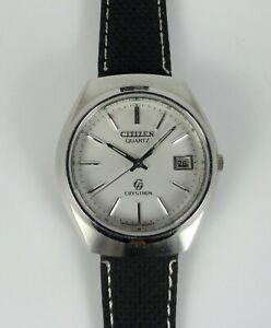 Vintage CITIZEN CRYSTRON men's watch (JAPAN)