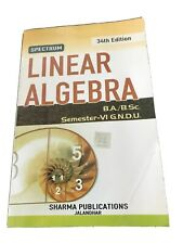 linear algebra B.A./B.S.c.