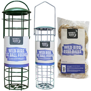 BIRD FEEDERS - FATBALL - CHOICES OF FEEDER &/or FEED or COMBINATION DEALS