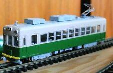 Modemo NT69 N-Gauge Keifuku Mobo 101 Tram cream & green livery