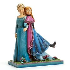 Jim Shore Disney Frozen Elsa And Anna Sisters Forever Figurine 4039079 New