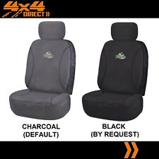 SINGLE 18OZ WATERPROOF CANVAS CAR SEAT COVER FOR HONDA CRX TARGA