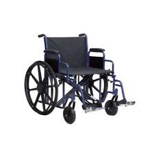 Sedia A Rotelle Per Anziani Bariatrica Carrozzina disabili autospinta pieghevole