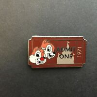 WDW - PWP Collection - Admission Ticket - Chip 'n Dale Disney Pin 92332