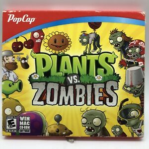 Plants vs. Zombies (PC WIN/MAC CD-ROM 2009) NEW