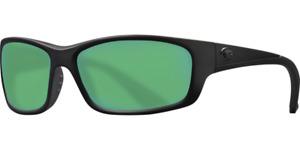 COSTA DEL MAR Jose Sunglasses 580P Brown / Copper Green Mirror, Blackout