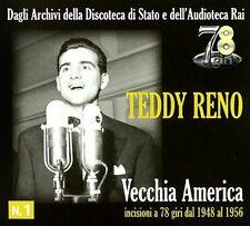 Teddy Reno - Vecchia America-Incisioni [New CD] Italy - Import