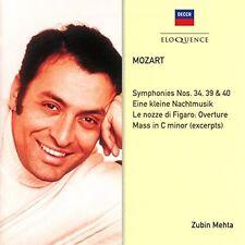 Zubin Mehta - Mozart: Symphonies 34 39 40 / Eine Kleine [New CD] Australia - Imp