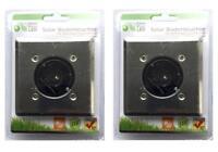 2er Set LED Solar Bodenleuchte | Weg Leuchten | Bodenlampe | Solarlampen