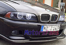 H Style REAL CARBON FIBER FRONT LIP SPOILER For BMW E39 5-SERIES M5 BUMPER B005