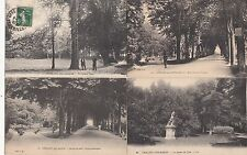 Lot 4 cartes postales anciennes CHÂLONS-SUR-MARNE jardin du jard 2