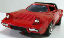 SHINSEI Mini Power 412 LANCIA STRATOS HF Stradale rot 1:34 Japan m.Rückzugsmotor