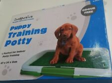 Compion Puppy Training Potty  Dog Tray Indoor House Toilet Pet Mat