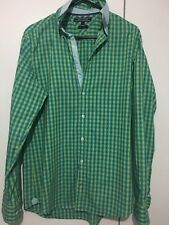 Tommy Hilfiger Mens Check Shirt -Size S  Like New Rrp $150