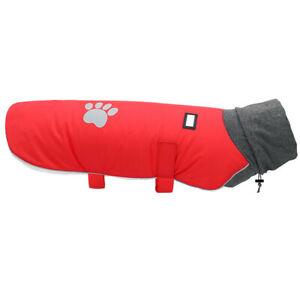 Dog Coats for Large Dogs Winter Waterproof Pet Warm Turtleneck Jacket Pitbull