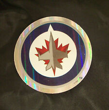 NHL Winnipeg Jets 2011/12-Now Team Logo in Full Color & Shape Sticker #2