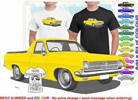 CLASSIC 65-66 HD HOLDEN UTE ILLUSTRATED T-SHIRT MUSCLE RETRO SPORTS