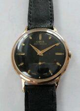 Oris watch rose Gold Capped 1960 manual wind cal 671 kif