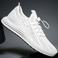 Outdoor Men's Breathable monolayer mesh Shoes knit Sports Hiking Athletic Shoes