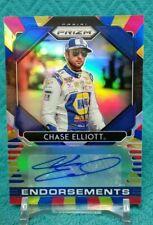 "2020 Prizm Racing Chase Elliott Rainbow Prizm ""ENDORSEMENTS"" Autograph 8/24"