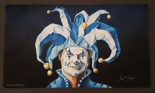 JESTER'S CAP Play Mat MTG SIGNED by Dan Frazier OFFICIAL WotC Wizards Magic