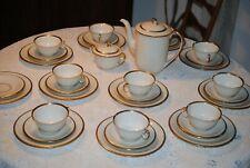 Antike  HUTSCHENREUTHER HOHENBERG MARGARETE GOLDRAND Kaffee Serviceteile (34)