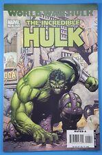 The Incredible HULK #110 World War Hulk Marvel Comics 2007