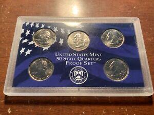 2002 - D USA States quarter dollar - proof set