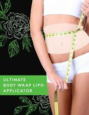 ULTIMATE CONTOURING BODY WRAP APPLICATOR it works for inch loss 6 WRAPS