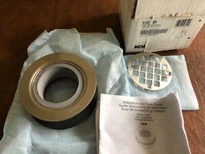 KOHLER K-9132-BN Shower Stall Drain, One Size, Vibrant Brushed Nickel