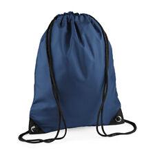 Boys Girls Premium Gymsac School Sports Drawstring P.e Bag by BagBase  French Navy bf513ef383092