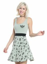 The Legend of Zelda Hylian Crest Hieroglyphic Stamp Skater Dress JRS XXL 2XL NWT