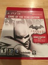 Batman: Arkham City - PS3 - Game of the Year Edition - PlayStation 3 - Complete
