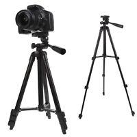 Profi Reise Stativ Digitalkamera Camcorder Video Kipp Pfanne Kopf Neu + Tasche