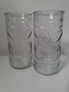 Tiki highball Glasses 16 oz (46cl)( Pack Of 2 )