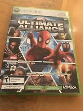 Marvel: Ultimate Alliance (Microsoft Xbox 360, 2007) (FORZA DISC NOT INCLUDED)