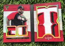 2016 Triple Threads Ruby All Star Jumbo Sleeve Team 3 PATCH PRINCE FIELDER 1/1