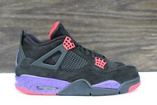dfde769d407 Men's Nike Air Jordan 4 IV Retro NRG Raptors Black Purple Size 10.5 AQ3816  065
