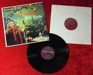 LP Will Glahé:Old Heidelberg (London SW 99227) UK