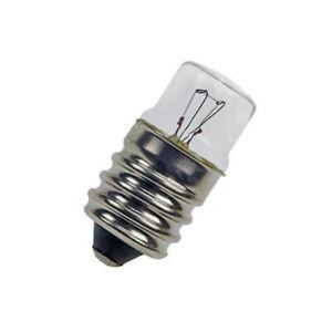 24V 5W E14 Screw in Light Bulb 14mm X 30mm (Pack of 5)