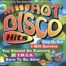 Countdown Mix Masters : Hot Disco Hits CD