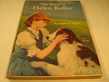 Paperback THE STORY OF HELEN KELLER Lorena A Hickok 1972 [Y38]