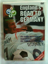 ENGLAND'S ROAD TO GERMANY~BATTLE FOR A PLACE IN SOCCER's 2006 WORLD CUP~NEW DVD